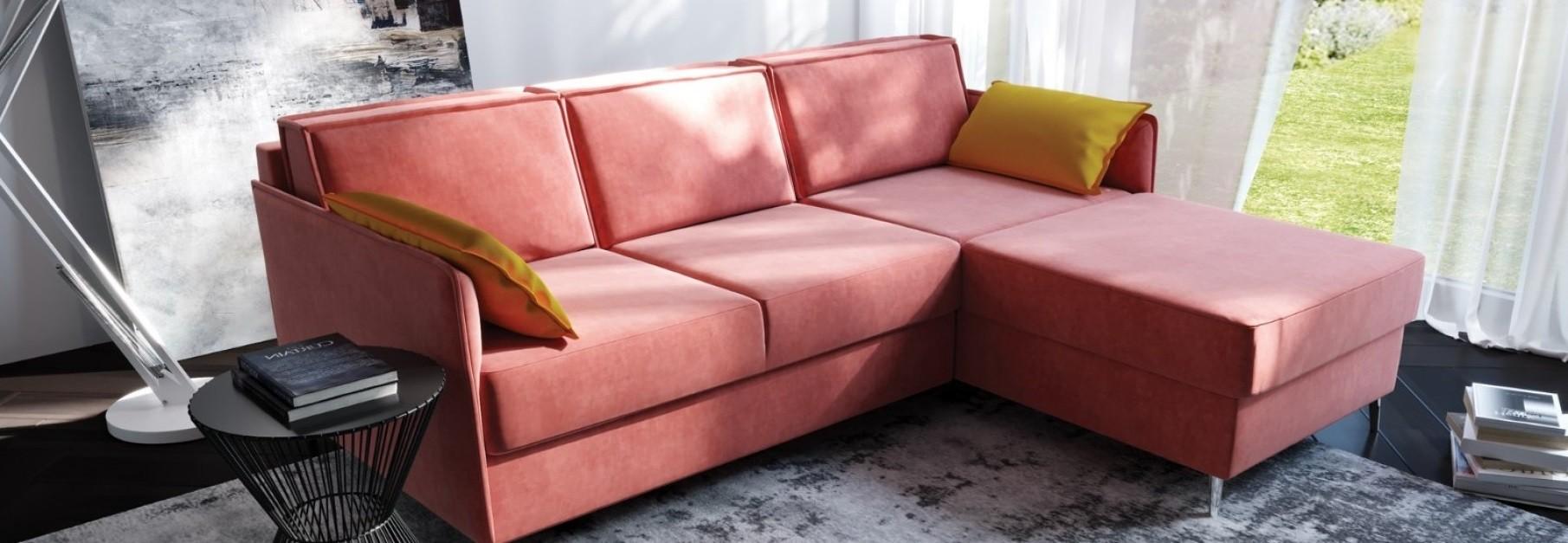 Kampinė sofa HUGO